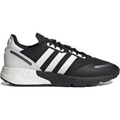 Buty sportowe męskie Adidas sznurowane skórzane