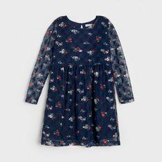 Sinsay - Sukienka dziewczęca - Granatowy