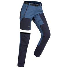 Spodnie turystyczne 2 w 1 - TREK 500 damskie
