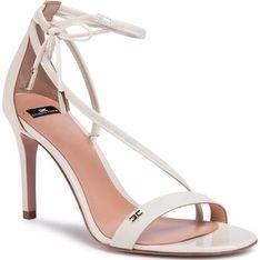 Sandały damskie Elisabetta Franchi bialy