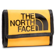 Duży Portfel Damski THE NORTH FACE - Base Camp Wallet NF00CE69LR01  Żółty