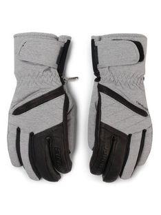 Ziener Rękawice narciarskie Kasada As(R) Lady Glove 191105 Szary