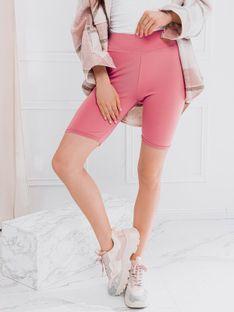 Spodenki damskie kolarki 003WLR - różowe