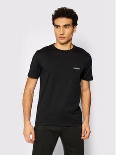 Calvin Klein T-Shirt Chest Logo K10K104062 Czarny Regular Fit