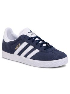 adidas Buty Gazelle J BY9144 Granatowy
