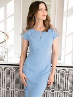 Sukienka z koronkowym wzorem na plecach Potis & Verso ANON