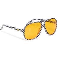 Okulary przeciwsłoneczne VANS - Seek Shades VN0A45GPHU01 Black/White Check