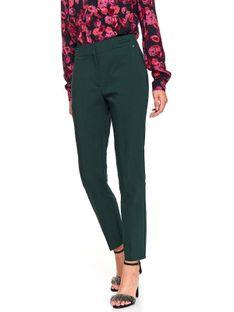 Eleganckie spodnie z podwyższonym stanem