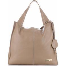 Shopper bag Vittoria Gotti brazowy