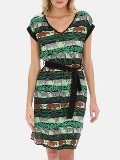 Sukienka ze zwierzęcym motywem Smashed Lemon 21100-530-999