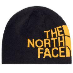 Czapka THE NORTH FACE - Rvsbl Tnf Banner Bne NF00AKNDAGG1 Tnfblk/Summtgld