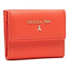 Mały Portfel Damski PATRIZIA PEPE - 2V8545/A4U8N-R665 Hibiscus Red