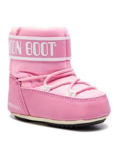 Moon Boot Śniegowce Crib 2 34010200004 Różowy