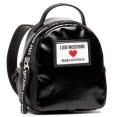 Plecak LOVE MOSCHINO - JC4032PP1CLC100A Nero