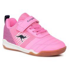 Buty KANGAROOS - Super Court Ev 18611 000 6211 Neon Pink/Fuchsia