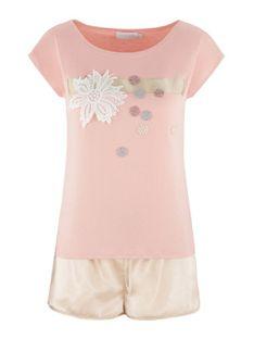 Pastelowa piżama Potis & Verso AMY