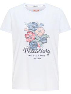 "Mustang ""Alina C Print"" White"