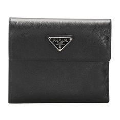 Saffiano Small Wallet