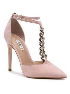 Guess Sandały Niomy FL5NIO SUE08 Różowy