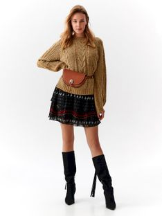 Casualowy damski sweter