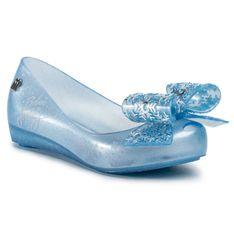 Baleriny MELISSA - Ultragirl + Frozen Inf 32852  Pearl/Blue/Glitter 53645