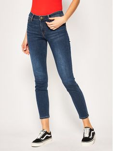 Lee Jeansy Skinny Fit Scarlett L526DUIY Granatowy Skinny Fit