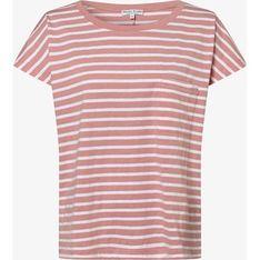 Różowa bluzka damska Marie Lund z krótkim rękawem