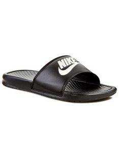 Nike Klapki Benassi Jdi 343880 090 Czarny