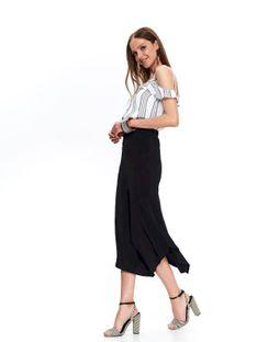 Asymetryczna spódnica damska