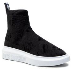 Sneakersy LOVE MOSCHINO - JA15164G1CIZ3000  Nero