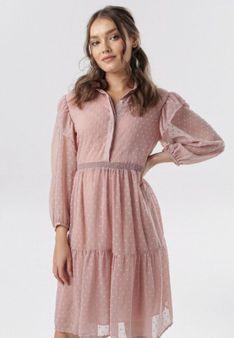 Różowa Sukienka Aroanise