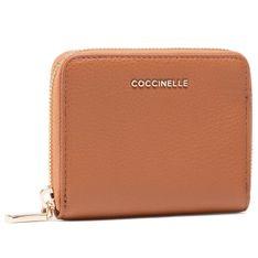 Mały Portfel Damski COCCINELLE - HW5 Mettallic Soft E2 HW5 11 A2 01  Caramel W03