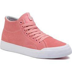 Trampki damskie Dc Shoes adidas stan smith wiązane z wysoką cholewką
