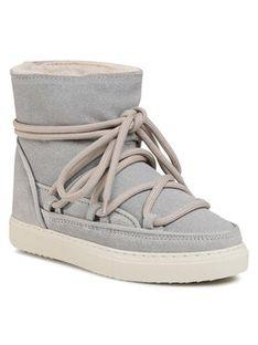 Inuikii Buty Sneaker Glitter 70202-111 Srebrny