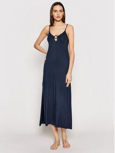 Emporio Armani Sukienka letnia 262483 1P315 00135 Granatowy Regular Fit