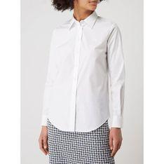 Koszula damska Ralph Lauren z kołnierzykiem biała z długimi rękawami