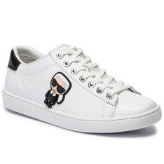 Sneakersy KARL LAGERFELD - KL61230 White Lthr