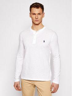 Polo Ralph Lauren Longsleeve Lsl 710790058002 Biały Regular Fit