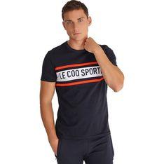 Koszulka sportowa Le Coq Sportif z napisami