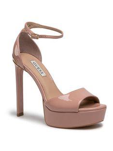 Guess Sandały Alden2 FL5ADN PAF07 Różowy