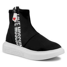 Sneakersy LOVE MOSCHINO - JA15234G1CIN0000  Nero