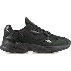 Buty sportowe damskie Adidas czarne jesienne