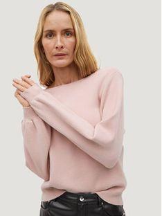 Mango Sweter Ginesta 87064015 Różowy Regular Fit