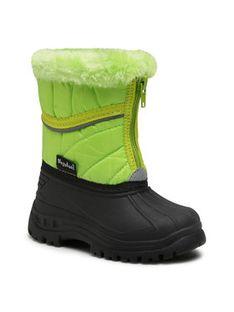 Playshoes Śniegowce 193007 Zielony