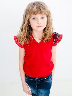 Czerwona kamizelka dziecięca Anima by Justyna Steczkowska