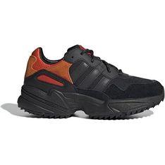 Buty sportowe damskie Adidas płaskie sznurowane