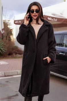 Płaszcz damski LATANA BLACK