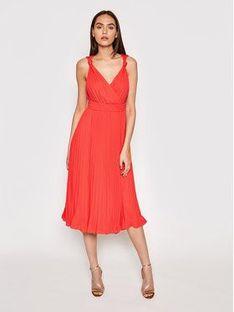 Marciano Guess Sukienka wieczorowa 1GG780 8592Z Czerwony Regular Fit
