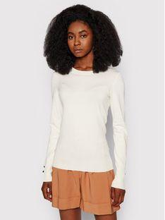 Guess Sweter Elinor W1YR02 Z2V60 Beżowy Slim Fit