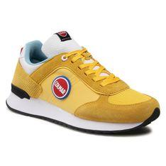 Sneakersy COLMAR - Travis Bold 131 Yellow/White